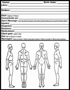 Massage Therapy Soap Note Chart Forms