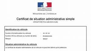 Siv Non Gage : le blog eplaque le certificat de non gage ~ Medecine-chirurgie-esthetiques.com Avis de Voitures