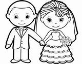 Groom Bride Coloring Sheet Children Charming Colouring Romantic Kitty Hello Ages sketch template