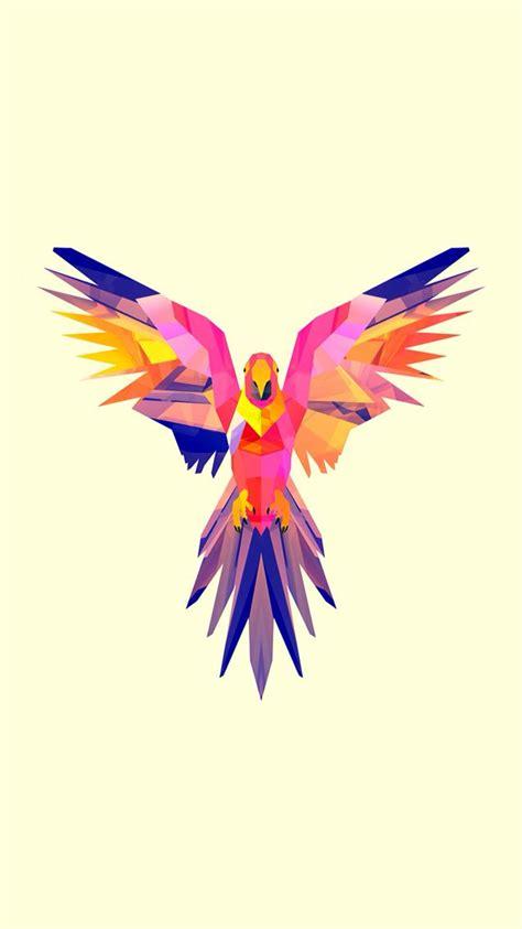 Geometric Animal Wallpaper - 19 best triangulation birds images on