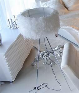 Lampe Aus Federn : stehlampe stehleuchte feder feather 160cm auf ~ Michelbontemps.com Haus und Dekorationen