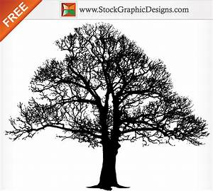Tree Silhouette Free Vector Graphics Download Free