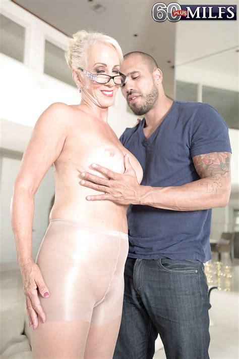 Busty Granny Madison Milstar Taking Hardcore Anal Sex