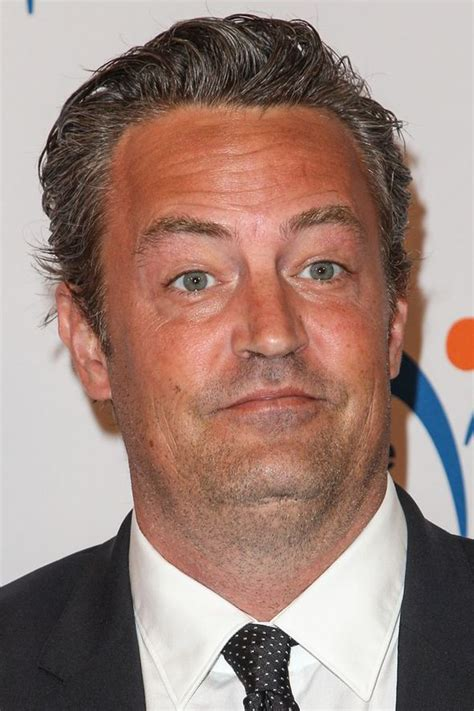 Former Friends actor Matthew Perry signs autographs ...
