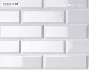 Carreau Metro Blanc : carreau style m tro diamond blanc brillant 10x30 ~ Preciouscoupons.com Idées de Décoration