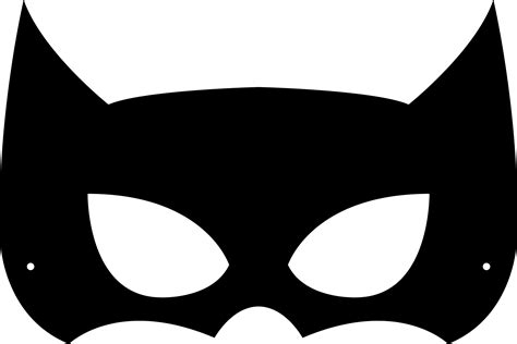 Batman Mask Template by Printable Masks