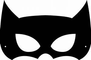 batman face mask template - coscave