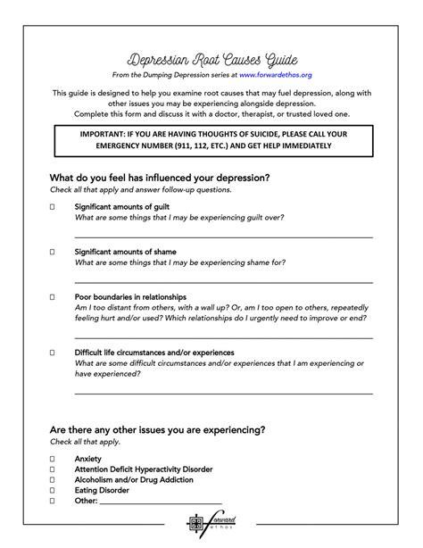 Processing Trauma Guide Sheet — Forward Ethos