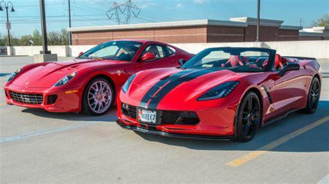 Chevrolet corvette z06 или ferrari 412. Photo Shoot: C7 Corvette Stingray Versus Ferrari 599 - CorvetteForum