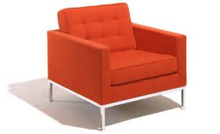Steel Sofa Designs by Florence Knoll Lounge Chair Hivemodern Com