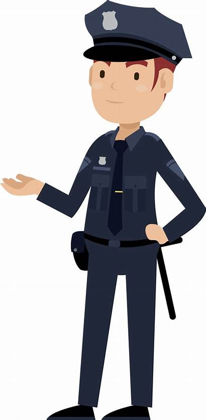 Police Officer Cartoon Policeman Security Clipart Transparent