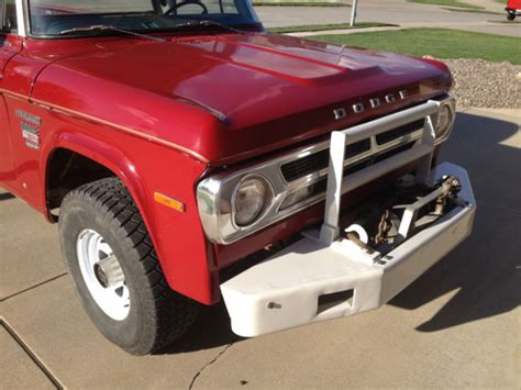 Set an alert to be notified of new listings. 1970 Dodge Power Wagon 200 4x4, 18K miles, Fire Department ...