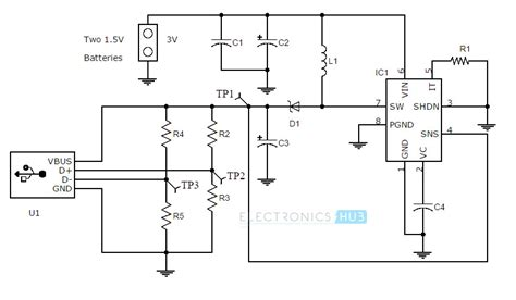 Scematic Diagram Battery Charger Booster Circuit