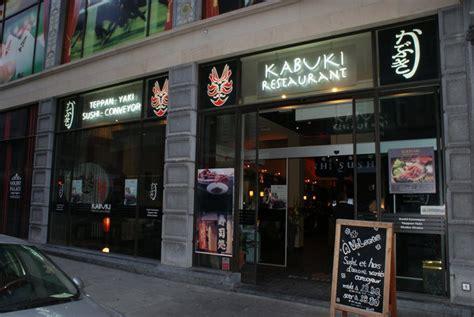 cuisine macrobiotique kabuki restaurant teppan yaki bruxelles centre 1000