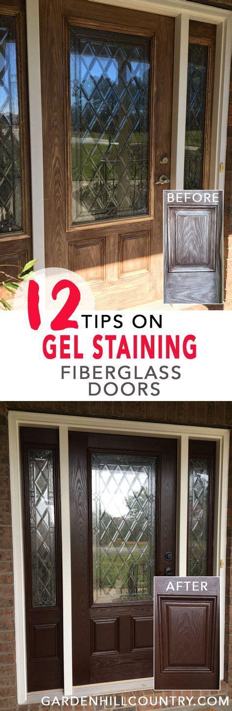 12 Tips For Gel Staining Fiberglass Doors Preparation
