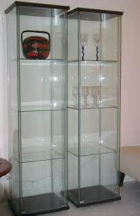 here s my ikea detolf glass cabinet my stuff