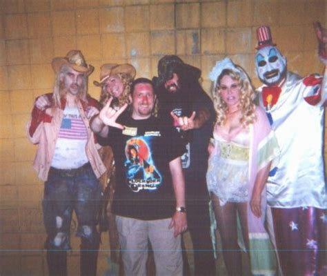 Cast Of House Of 1000 Corpses by Fangoria S Weekend Of Horrors Pics