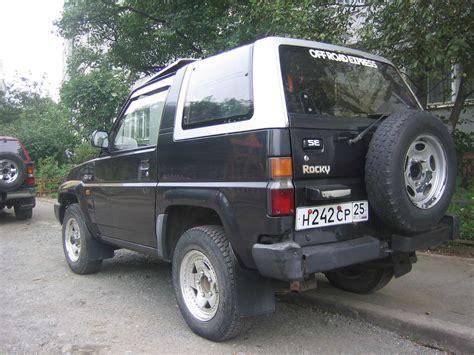 1992 Daihatsu Rocky by 1992 Daihatsu Rocky Images 1589cc Gasoline Automatic