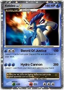 Pokémon Keldeo 903 903 - Sword Of Justice - My Pokemon Card