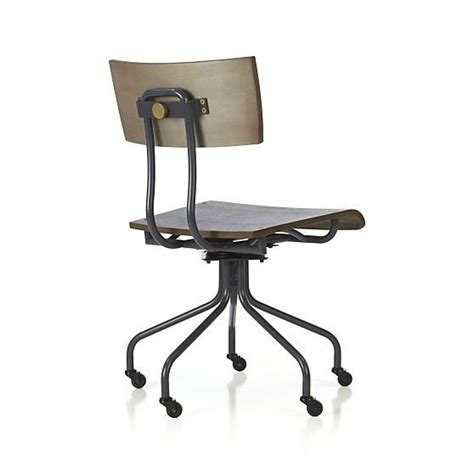 Crate And Barrel Scholar Desk Chair by Scholar Desk Chair