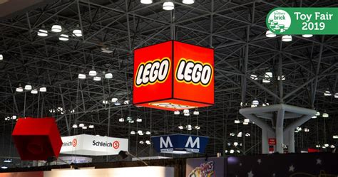 Wrapup From Lego's Booth At The 2019 New York Toy Fair