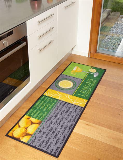 tapis de cuisine moderne tapis de cuisine lemons moderne et de qualité