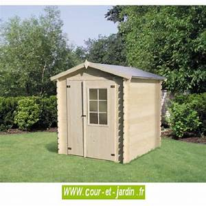 Abri De Jardin Moins De 5m2 : cabane en bois 5m2 cabane de jardin pas chere petite ~ Edinachiropracticcenter.com Idées de Décoration