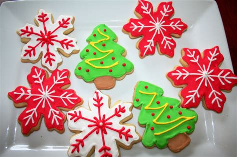 sugar cookies decorated for christmas pasta princess