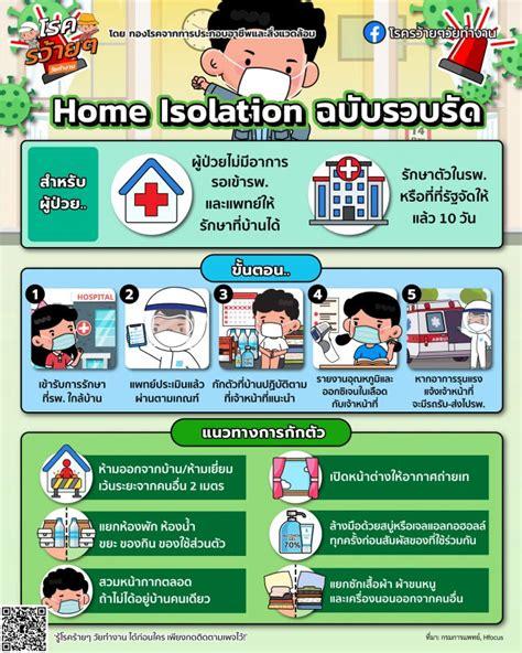 Home Isolation (แยกกักตัวที่บ้าน) ฉบับรวบรัด - Local News