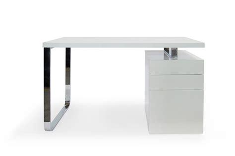 caisson bureau blanc laque caisson de bureau laque blanc