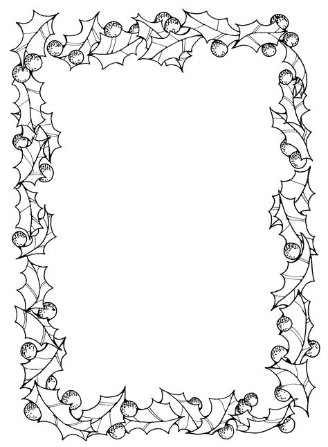 14812 school border clipart black and white black and white page borders card front frame
