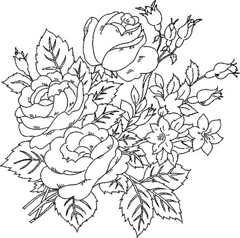 flower coloring pages  print  world pics