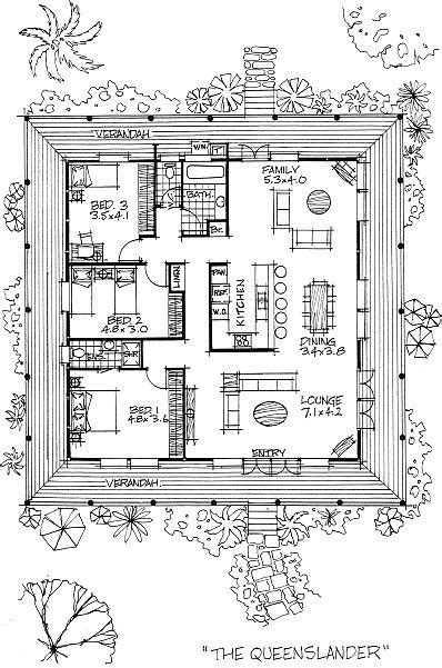 3 Bedroom House Queensland by House Plans Queensland Building Design Drafting
