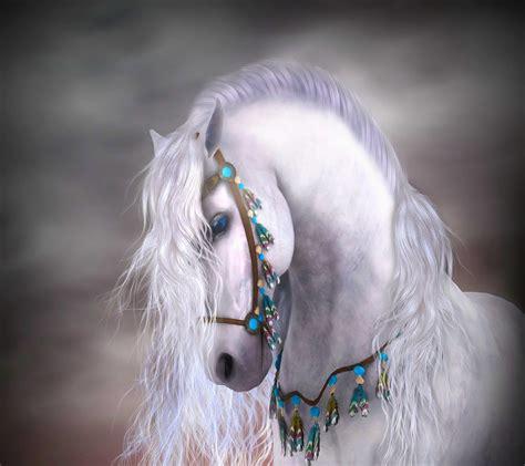 Horses fast art wallpaper running desktop draft horse