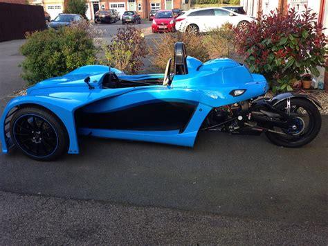 Kit Car Reverse Trike 3 Wheeler Morgan Gsxr 1000 Honda