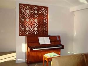 Mur En Bois Intérieur Decoratif : claustra en bois sur mesure par le cr ateur allure et bois ~ Teatrodelosmanantiales.com Idées de Décoration
