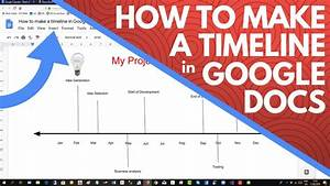 How To Make A Timeline In Google Docs
