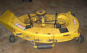 Belt Placement Illustration Lawn Mower Deck