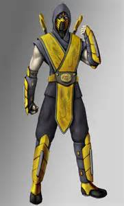 Mortal Kombat Scorpion Full Body