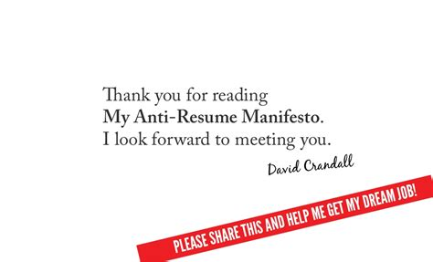Thank You For Your Resume Unfortunately by Thank You For Readingmy Anti Resume
