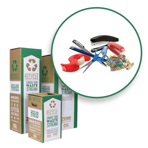 Office Supplies Used by Office Supplies Zero Waste Box 183 Terracycle