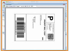 6+ usps shipping label template Introduction Letter