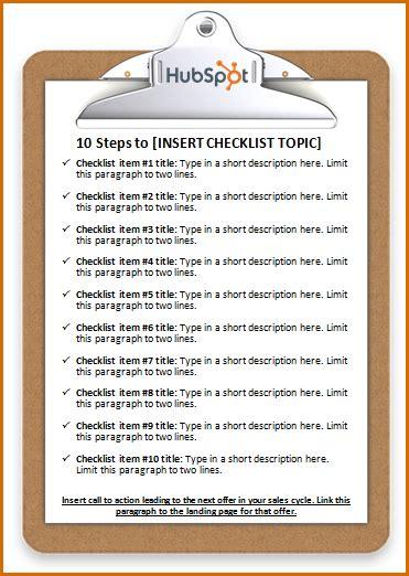 create  checklist  word