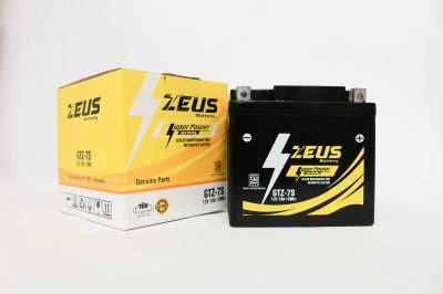 Cross X 150 And Yamaha Jupiter Z1 zeus gtz7s zeus battery aki mobil motor industri