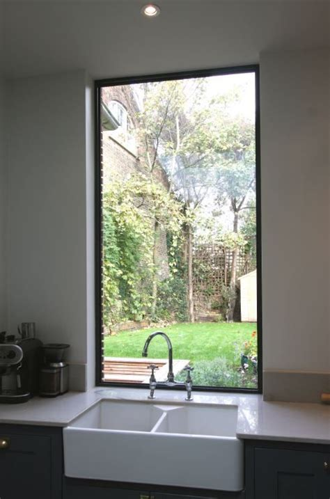 fixed aluminium casement window   kitchen sink