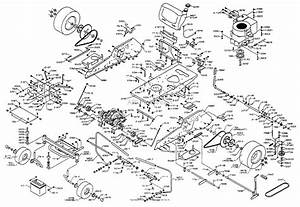 Dixon Ztr 3304  1998  Parts Diagram For Chassis