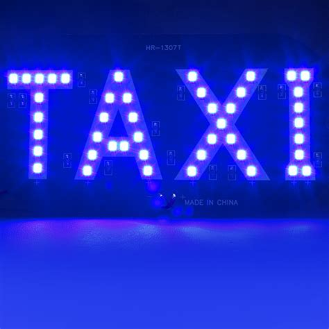 blue led lights for sale sale newest taxi led car windscreen cab indicator l