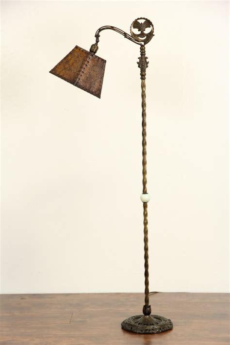 sold bridge reading antique  floor lamp original