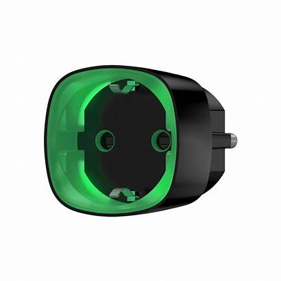 Ajax Socket Lichtschakelaar Systems Draadloze Plug Zwart