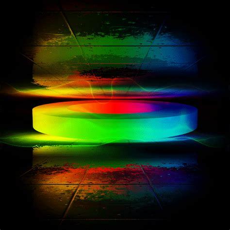 angular geometry colorful daily gifs   mind